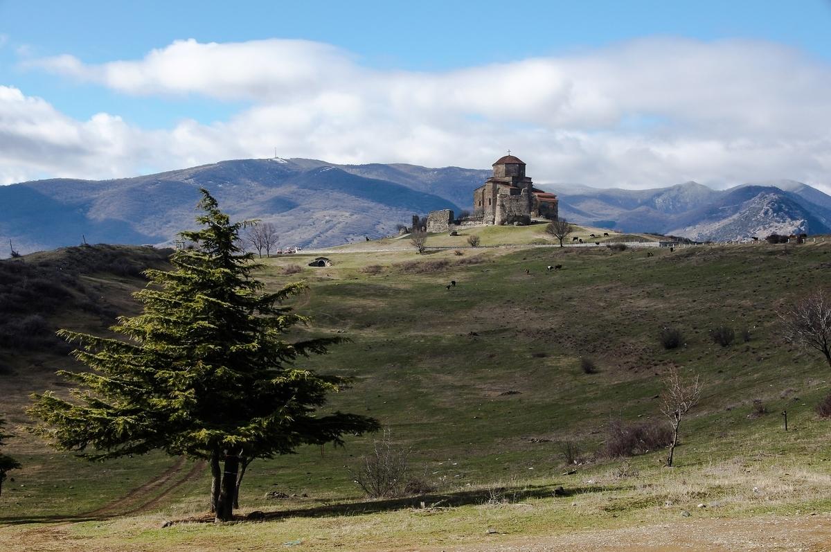 世界遺産検定1級試験対策 ジョージア ムツヘタの歴史的建造物群 ジュワリ聖堂