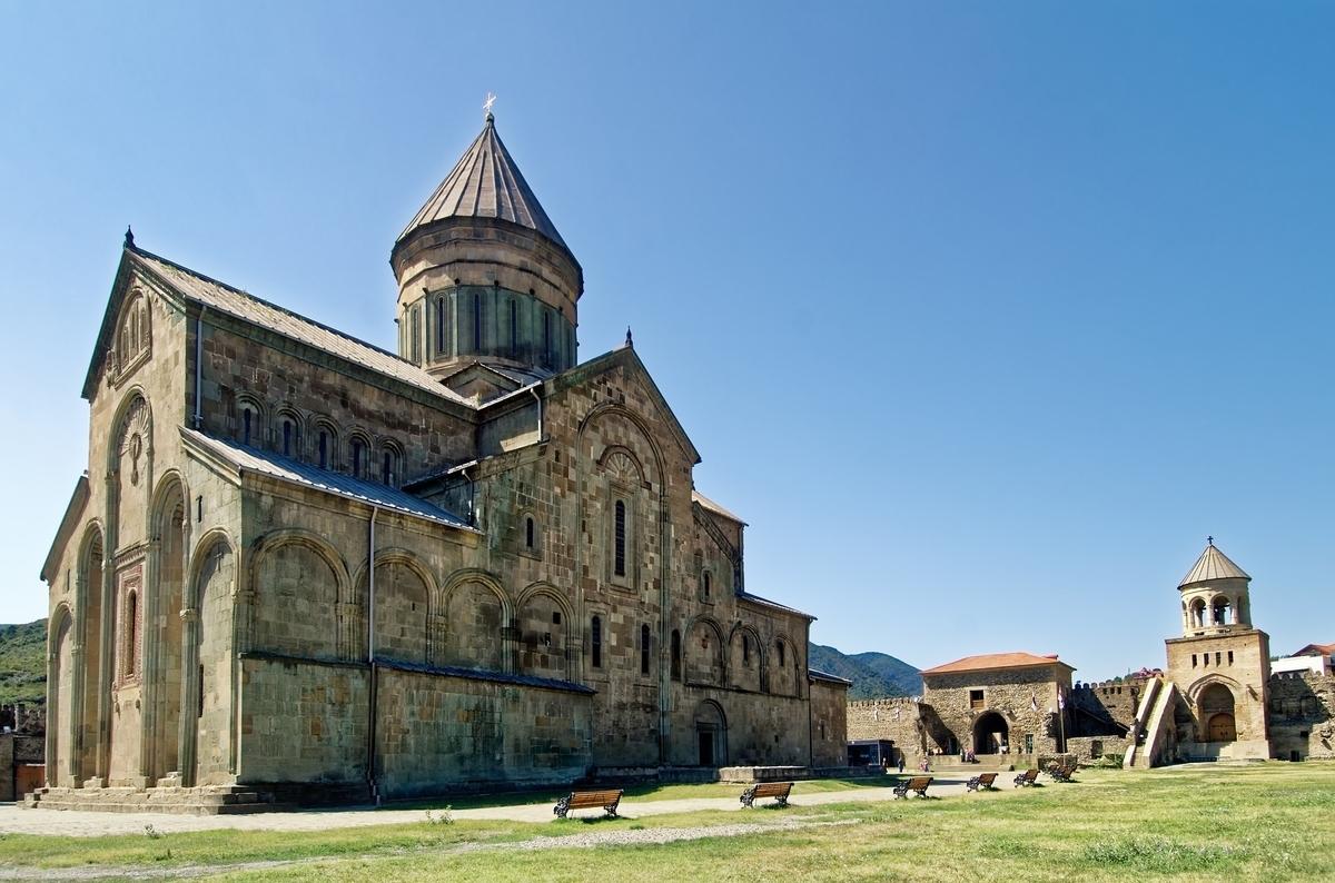 世界遺産検定1級試験対策 ジョージア ムツヘタの歴史的建造物群 スヴェティツホヴェリ聖堂