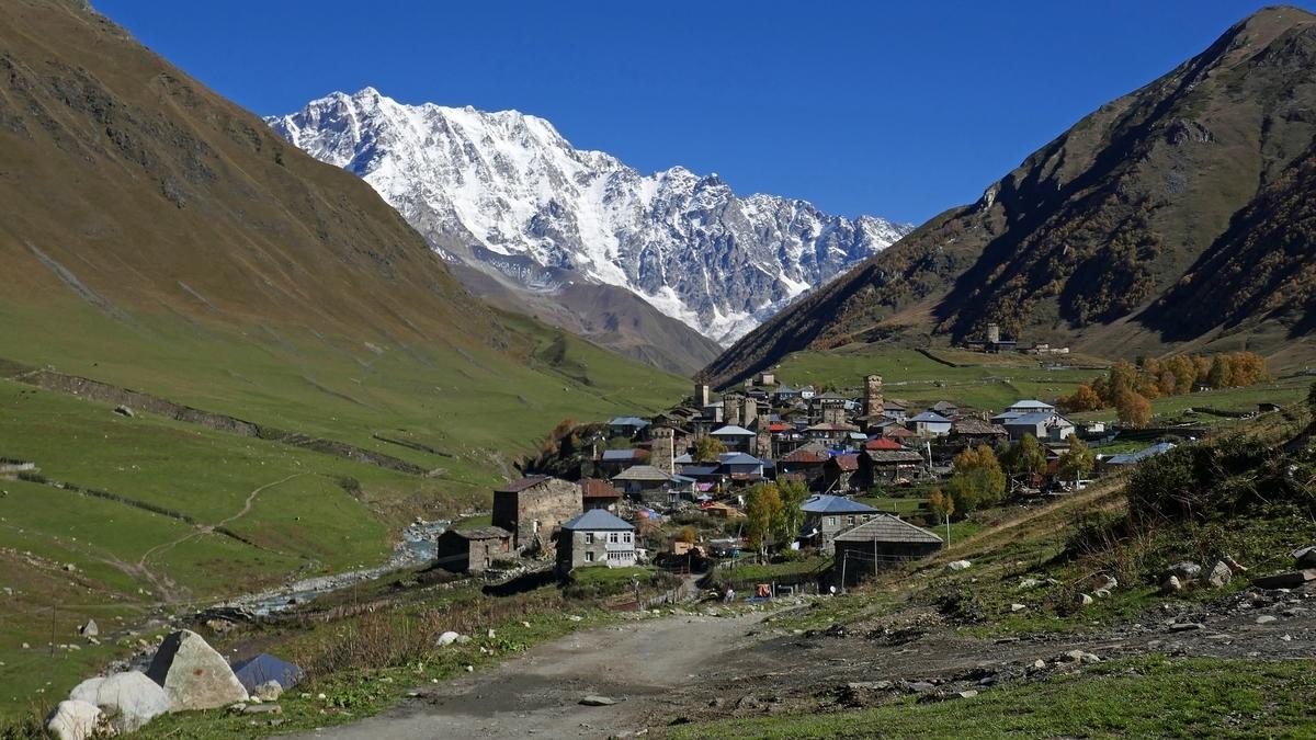 世界遺産検定1級試験対策 ジョージア 上スヴァネチア(ウシュグリ村)