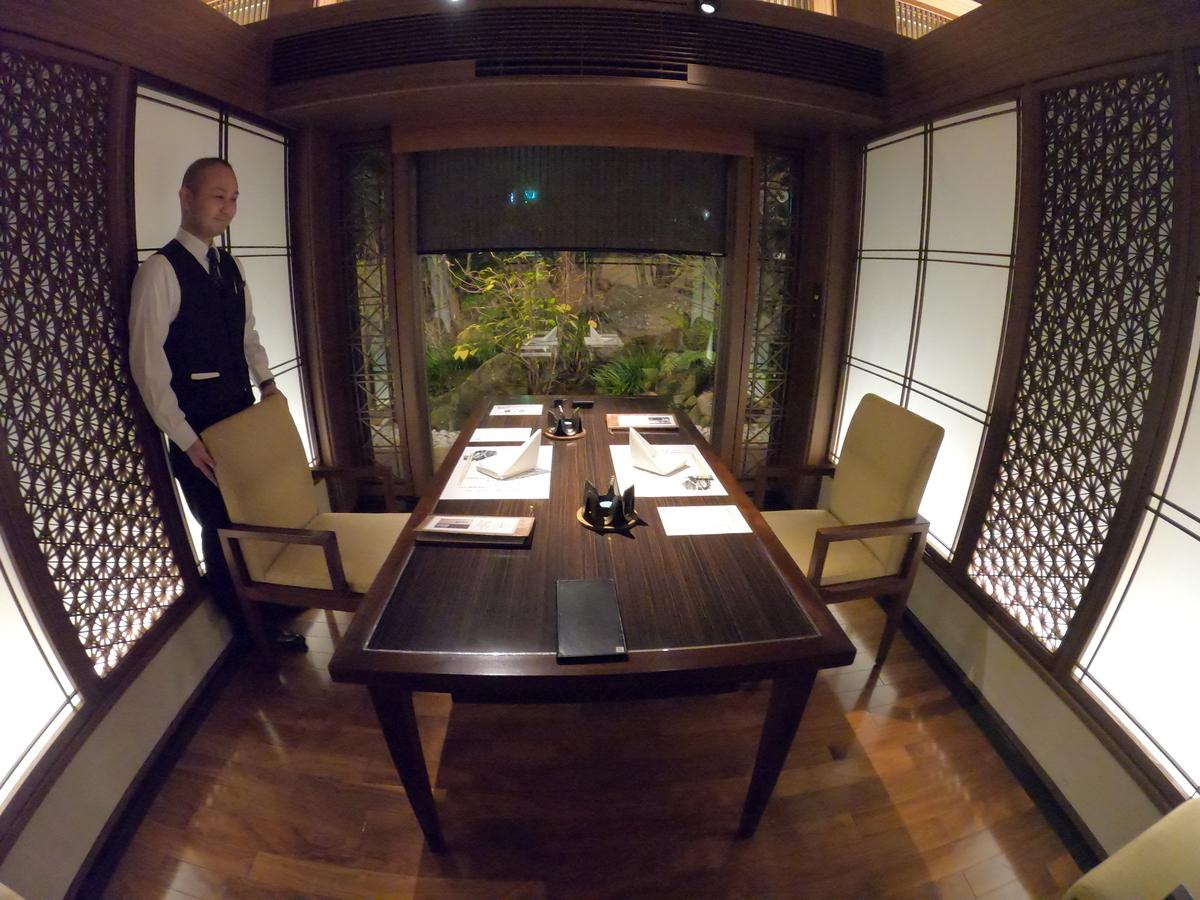 やまぐち湯田温泉古稀庵 食事 レストラン「桜の香」個室席