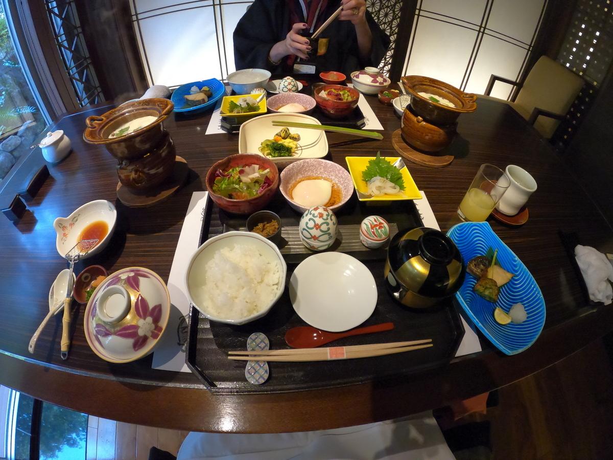やまぐち湯田温泉古稀庵の朝食