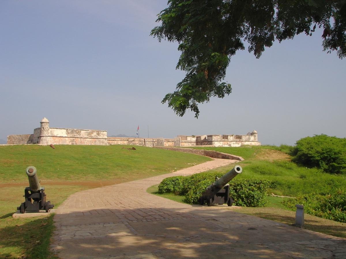 世界遺産検定1級試験対策 キューバ サンティアゴ・デ・クーバのサン・ペドロ・デ・ラ・ロカ城