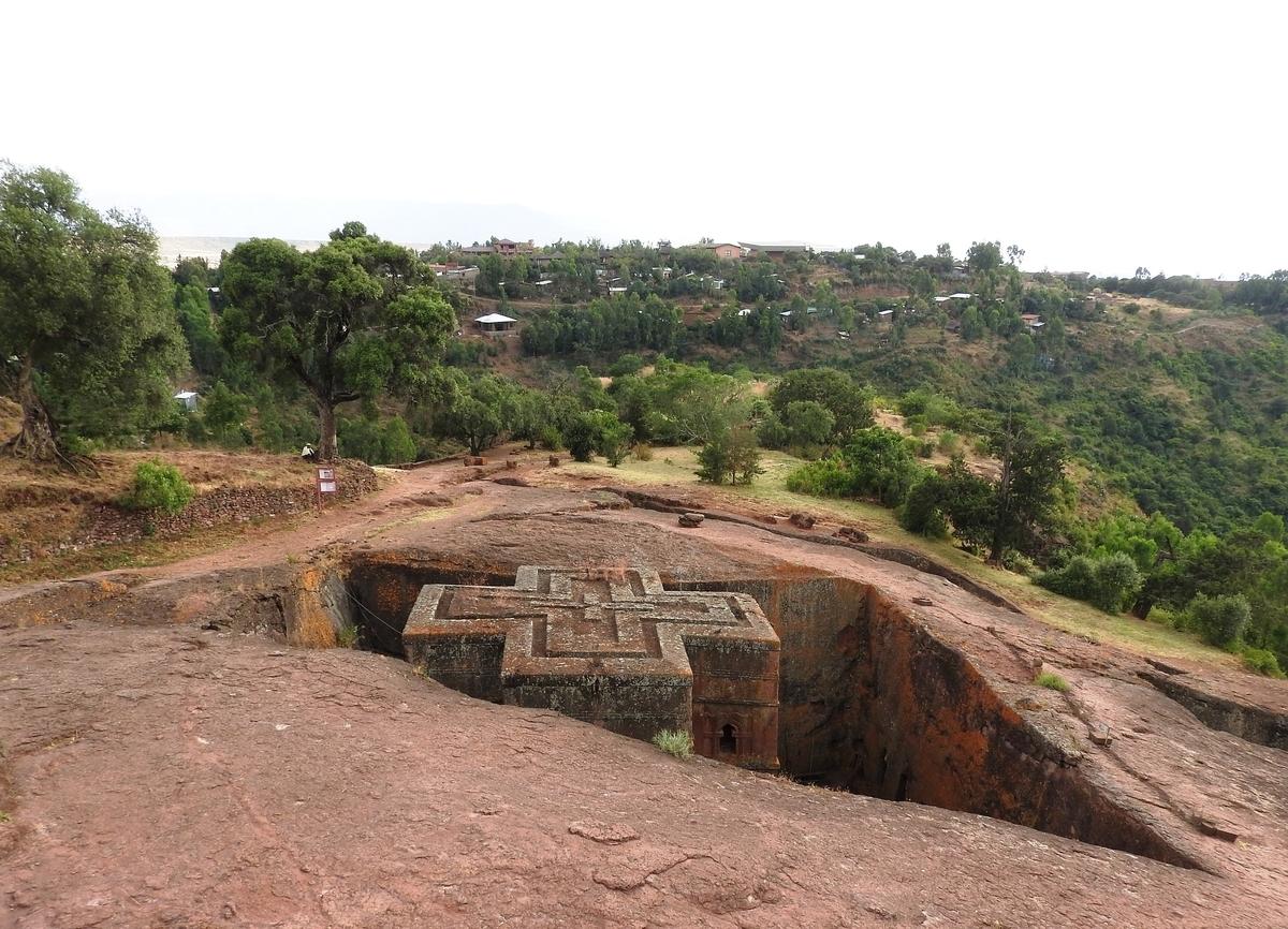 【世界遺産検定1級 試験対策】《エチオピア》: 9つの世界遺産の写真&ポイントまとめ ラリベラの岩の聖堂群