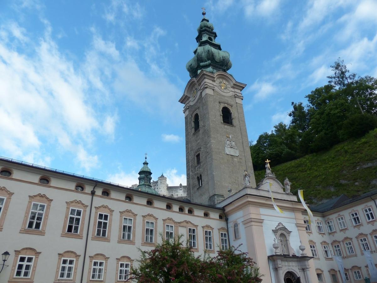 【世界遺産検定1級 試験対策】《オーストリア》: 7つの世界遺産の写真&ポイントまとめ ザルツブルグの歴史地区 ザンクト・ペーター修道院