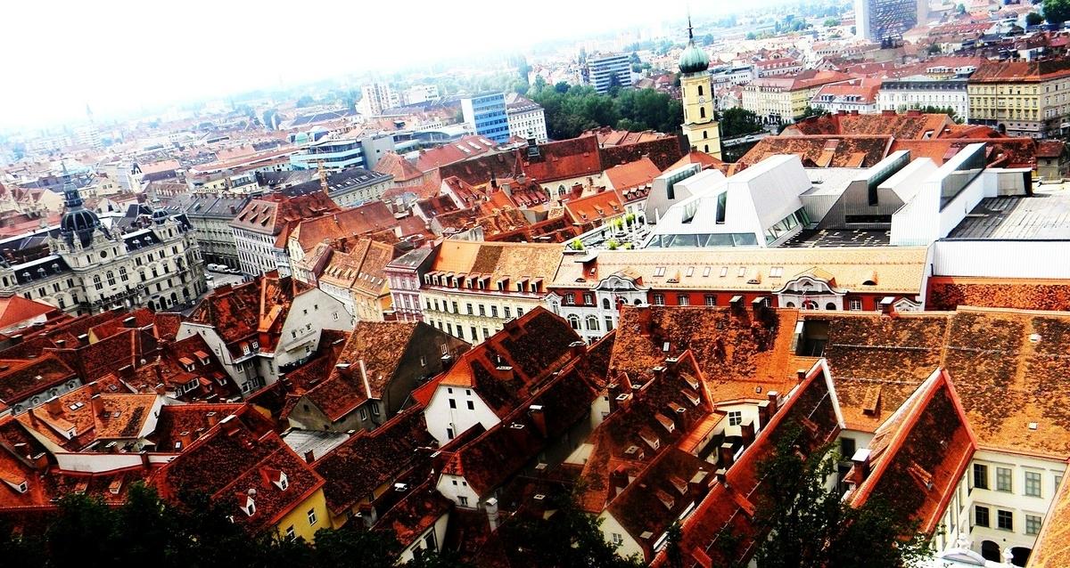 【世界遺産検定1級 試験対策】《オーストリア》: 7つの世界遺産の写真&ポイントまとめ グラーツ:歴史地区とエッゲンブルグ城