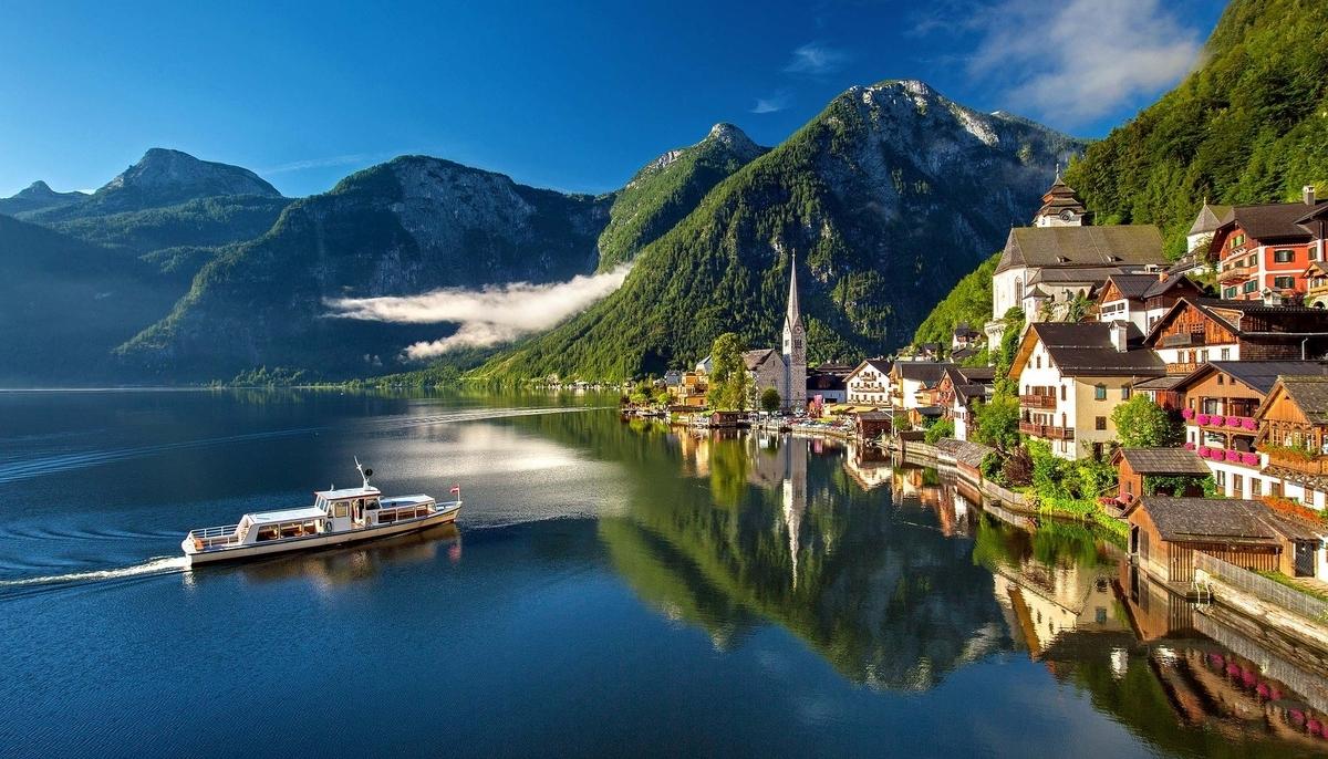 【世界遺産検定1級 試験対策】《オーストリア》: 7つの世界遺産の写真&ポイントまとめ ハルシュタット=ダッハシュタイン/ザルツカンマーグートの文化的景観