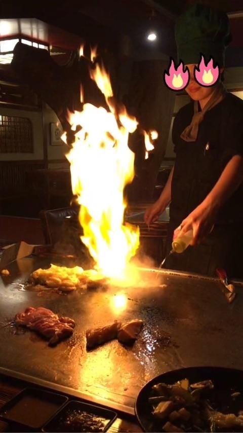 【オークランド グルメ】必ず行っておきたい!ランキング上位にも必ず挙がる3つのレストラン DAIKOKU Restaurant 大黒の鉄板焼パフォーマンス