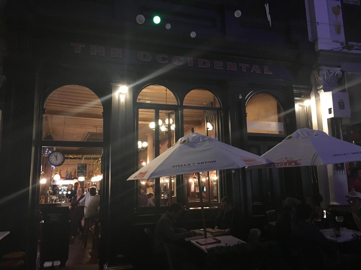 【オークランド グルメ】必ず行っておきたいおすすめレストラン!ランキング上位に必ず挙がる3店 The Occidental(オキシデンタル)外観