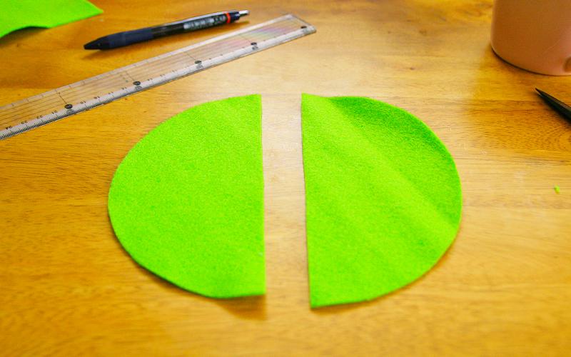 緑のフェルト2