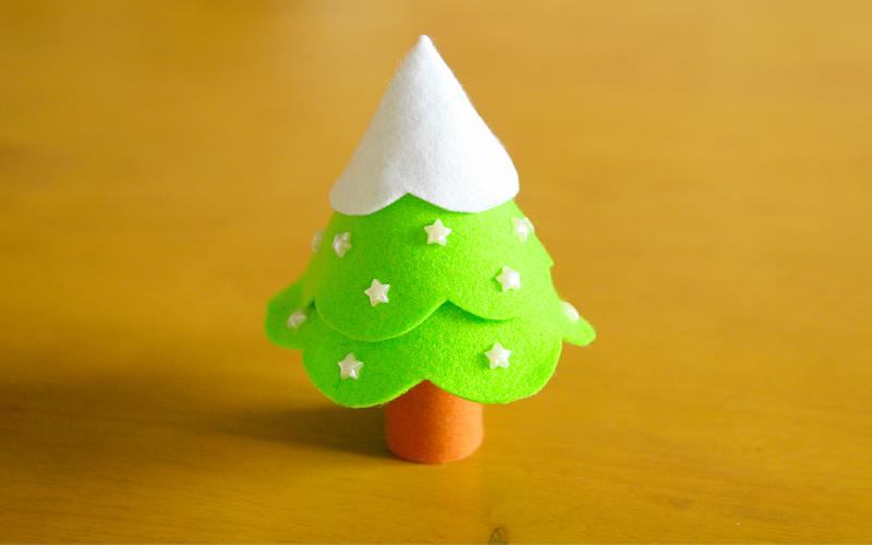 クリスマスツリー完成写真