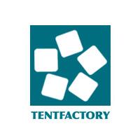 テントファクトリーのロゴ