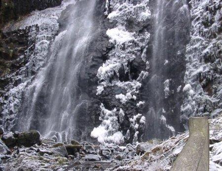 白猪の滝の滝つぼ
