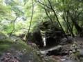 滑床渓谷・鳥居岩
