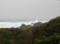 室戸荘から見える波