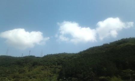 桜三里Pの空