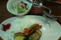 [食]野菜のせカレー