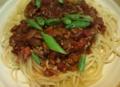 [食]ミートソーススパゲッティ