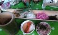 [食]竹皿でそうめん