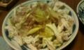 [食]キャベツとミョウガのサラダ