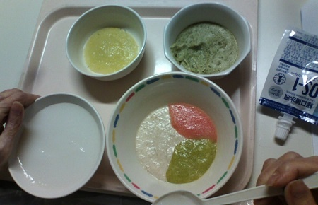 病院の夕食