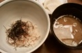 [食]鯛めしお味噌汁