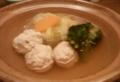 [食]鶏つみれとキャベツの鍋