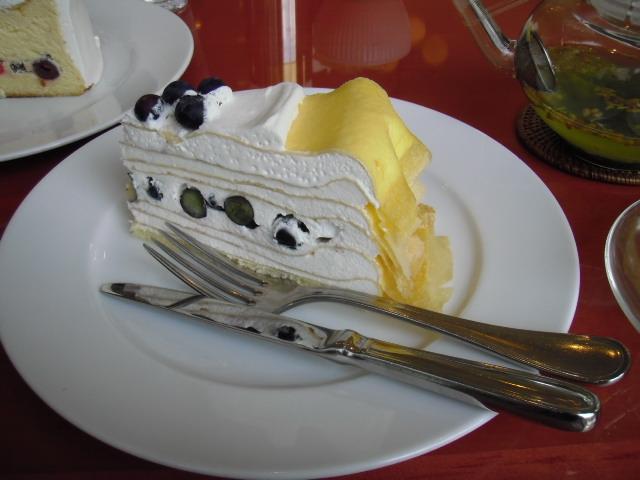 ハーブス 蔵王チーズのミルクレープ