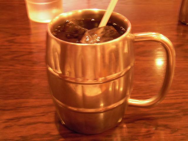 アイスコーヒー@サゴヤ珈琲店