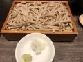 蕎麦(平打ち)@守貞
