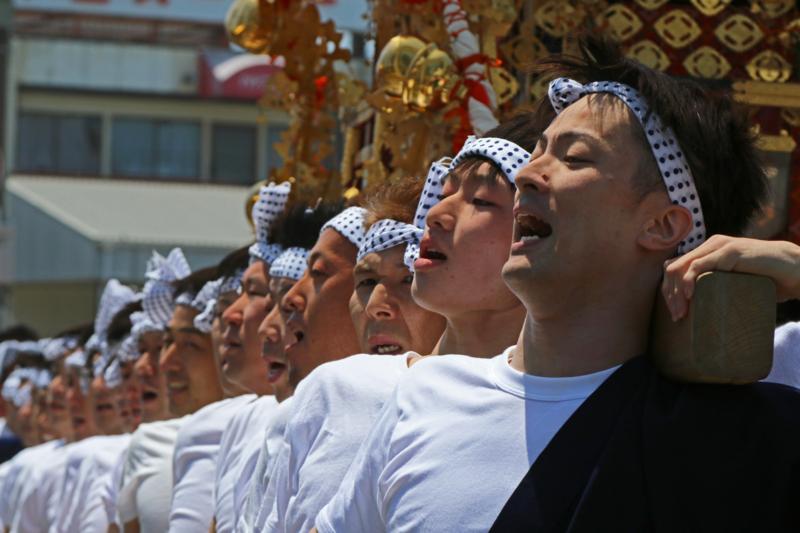 京都新聞写真コンテスト兵主祭り若衆