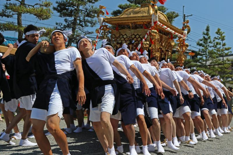 京都新聞写真コンテスト兵主祭り