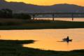 京都新聞写真コンテストびわ湖湖畔夕景