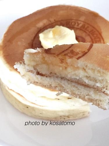 バニラホットケーキ