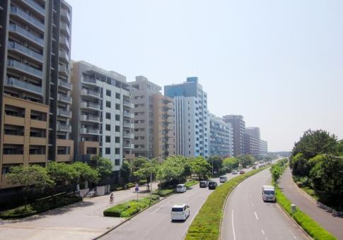 都会の街並みのイメージ