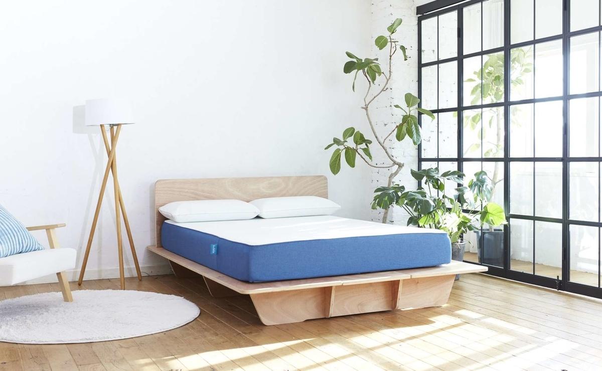 コアラマットレスのベッドフレーム