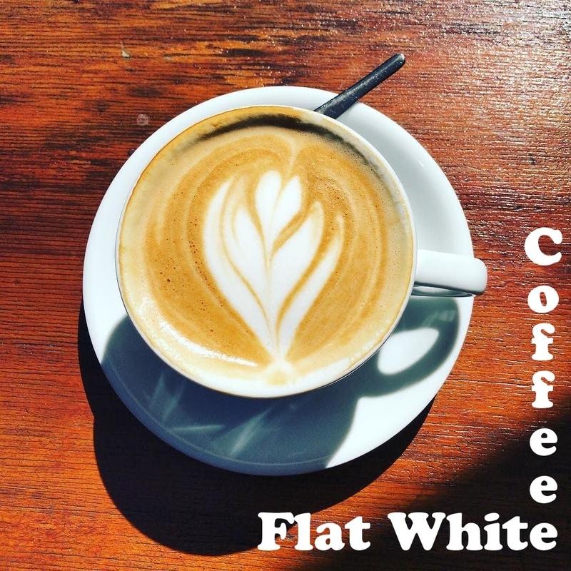 オーストラリアのフラットホワイト/Flat Whiteコーヒー