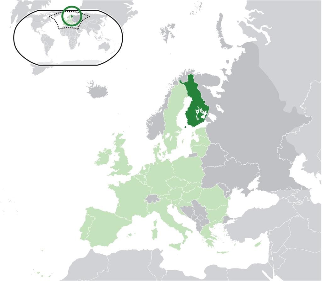 日本から最も近いヨーロッパ「フィンランド
