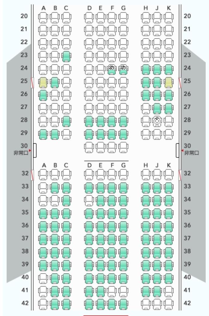 完売の割には空席が多い | 「国内線先行予約」争奪戦