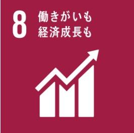 目標8 働きがいも 経済成長も