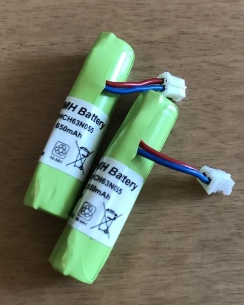 ピオマ交換用バッテリーの写真