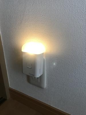 停電時に自動点灯するライト1