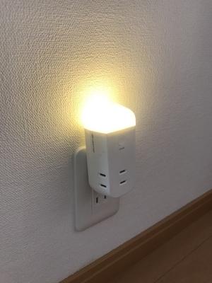 停電時に自動点灯するライト2