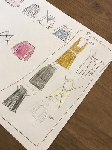 娘の秋冬服買い物計画2
