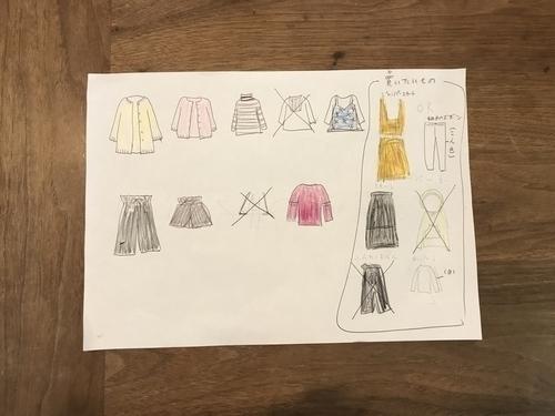 娘の秋冬服買い物計画1