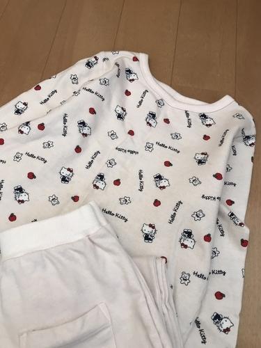 GUの綿素材パジャマ