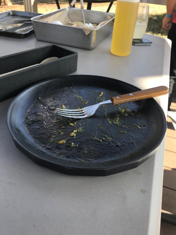 葛西臨海公園ソラミドバーベキュー大人用食器