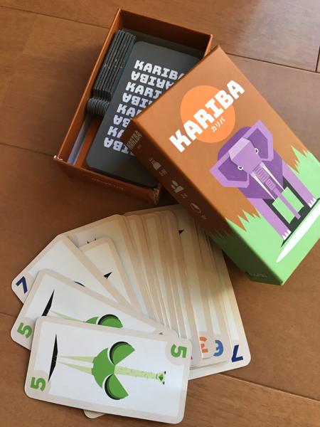 カードゲーム「カリバ」の中身