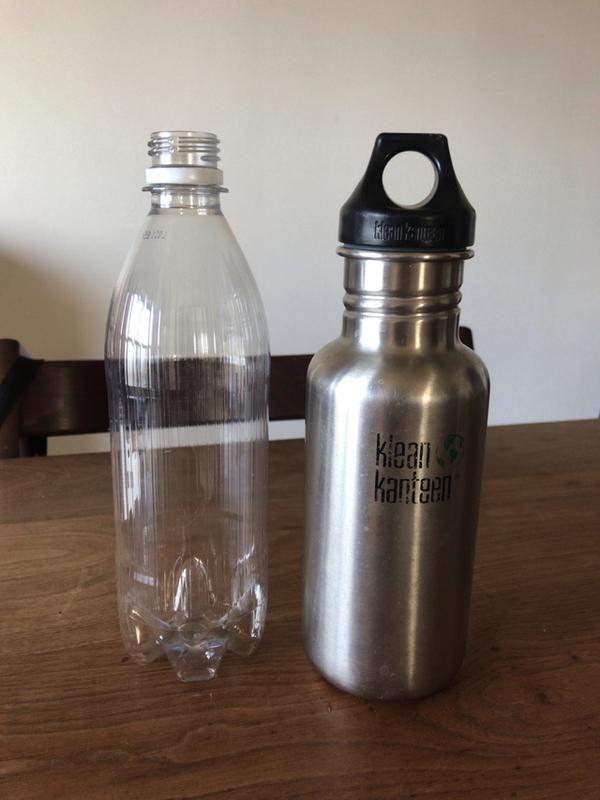 クリーンカンティーン クラシックボトル 18ozとペットボトル
