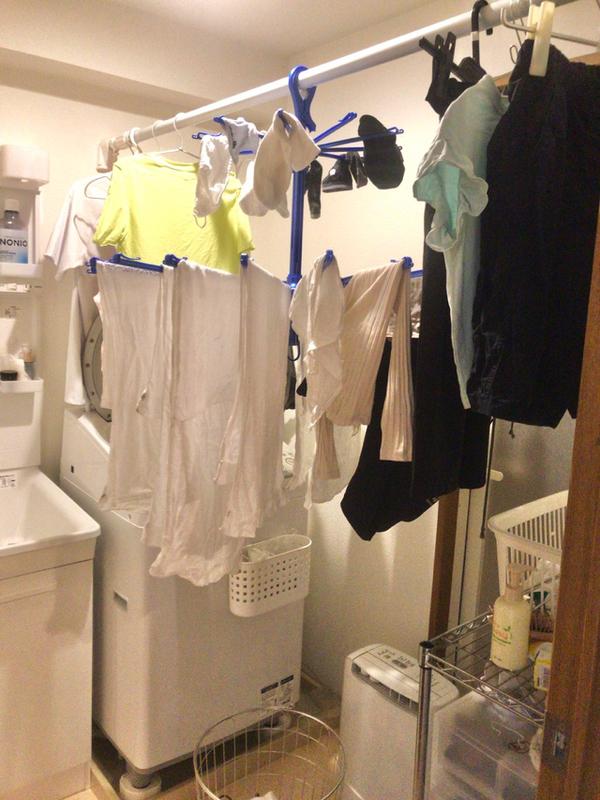 手作り衣類乾燥室