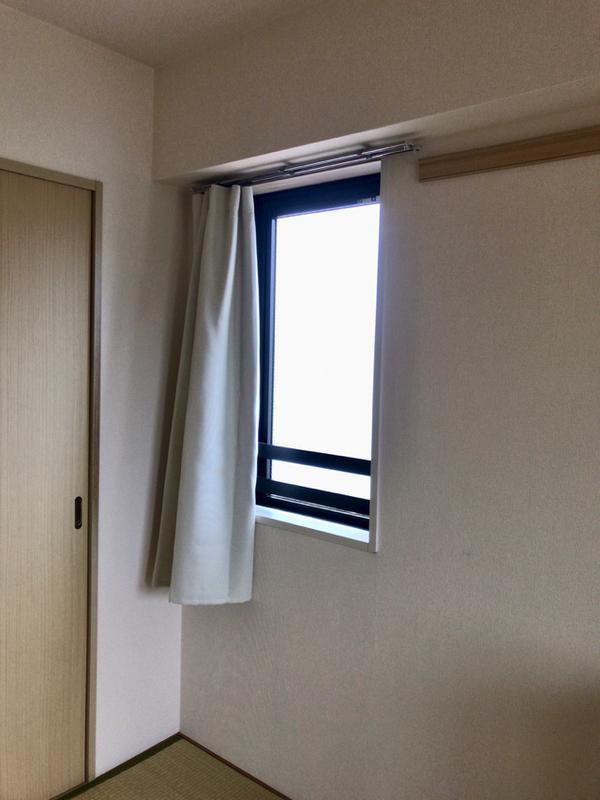 無印良品のポリエステル二重織ノンプリーツカーテン